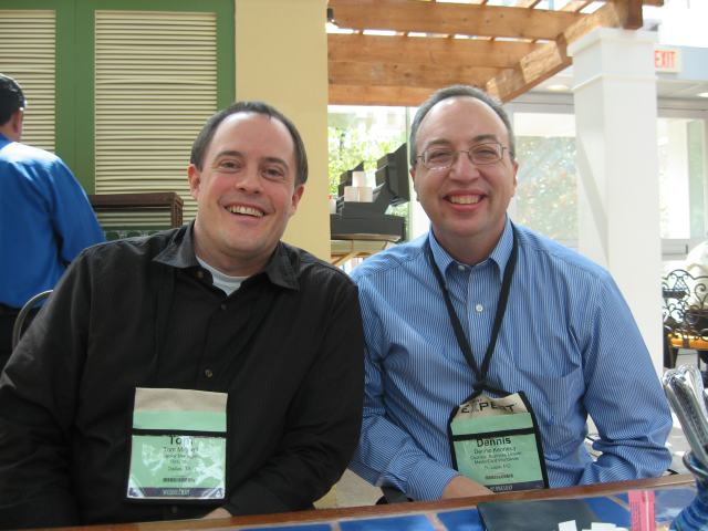 Tom and Dennis at ilta
